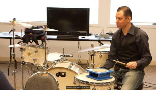 Daniel Glass at 2105 Chicago Drum Show