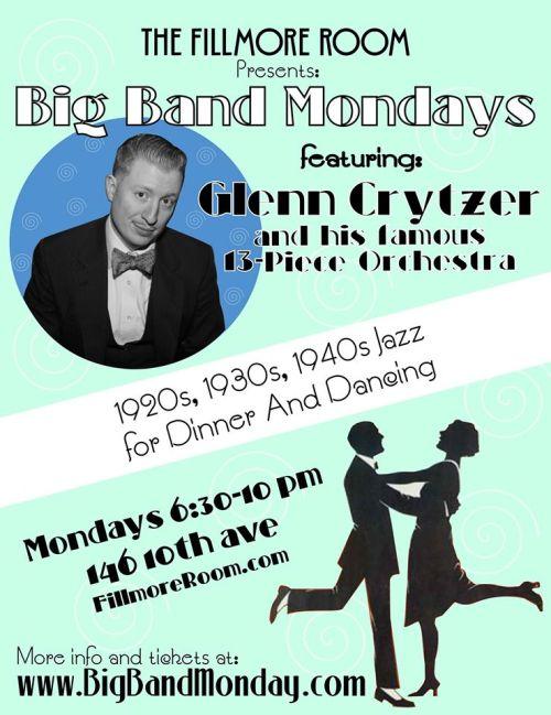 Glenn Crytzer Orchestra flyer