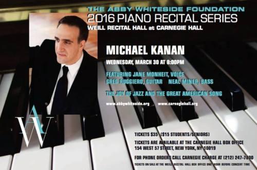 MICHAEL KANAN concert