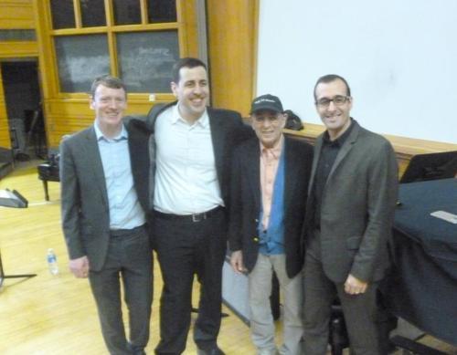Aidan, Jon, Steve, and Greg at City College