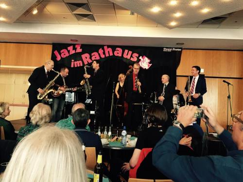 JAZZ IM RATHAUS April 2016 Photograph by Elke Grunwald