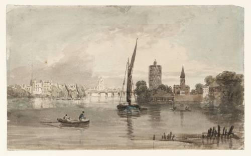Battersea Church and Bridge, with Chelsea Beyond 1797 Joseph Mallord William Turner 1775-1851