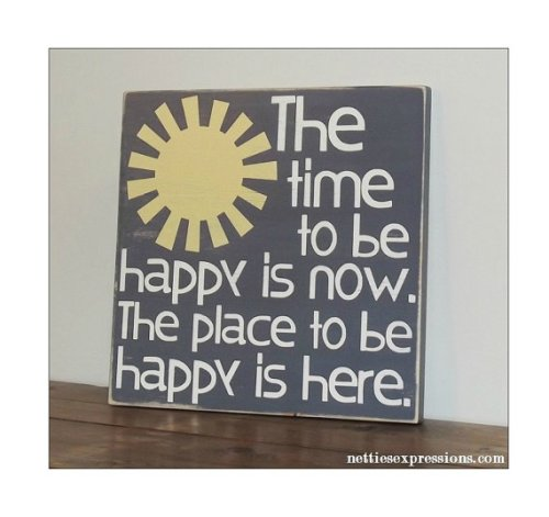 TIME TO BE HAPPY