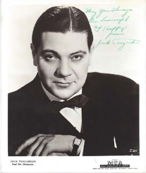 JACK TEAGARDEN Successful and Happy