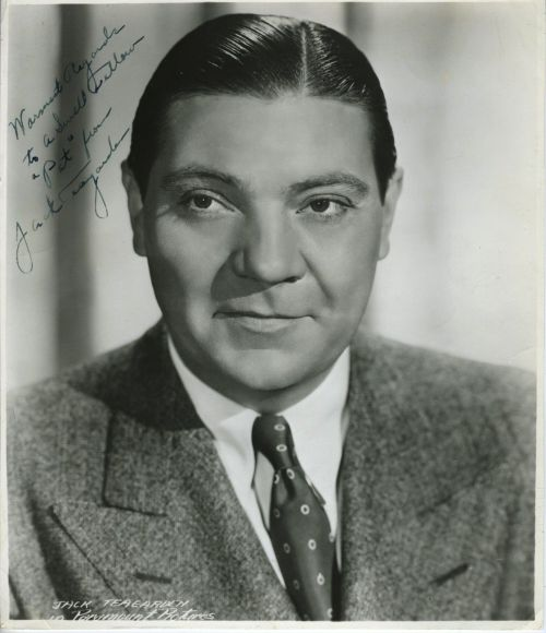 JACK TEAGARDEN Warmest Wishes