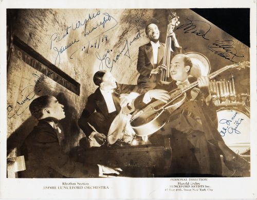 LUNCEFORD RHYTHM SECTION 1939