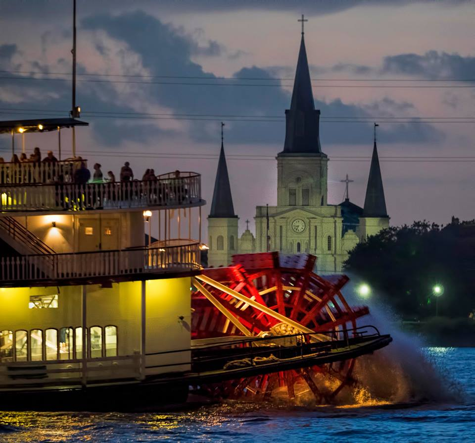 Steamboat Natchez. Photograph by John Snell.