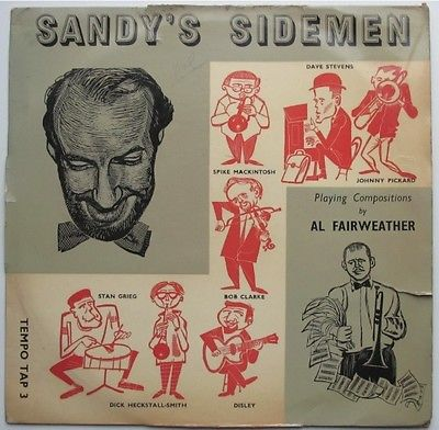 SANDY'S SIDEMEN lp