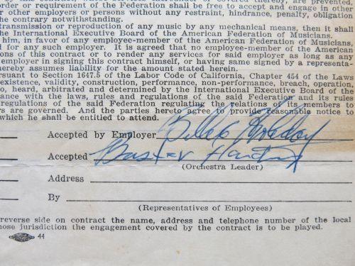 billie-1952-signature