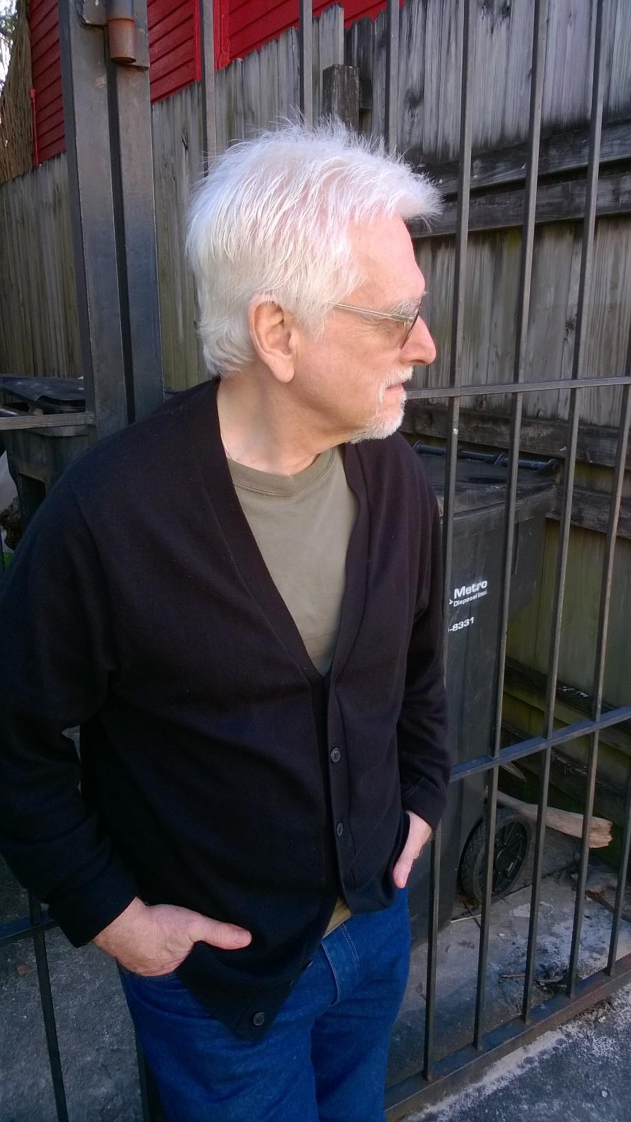 Larry Scala, January 2017, New Orleans. Courtesy of JAZZ LIVES.